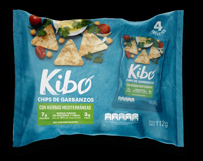 Chips de garbanzos con hierbas mediterráneas bolsa 4 unidades