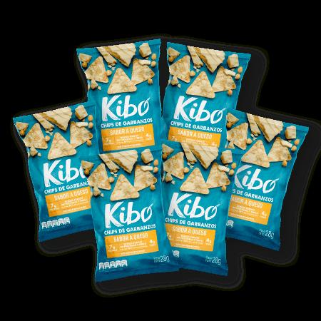 Chips diarios saludables de garbanzo sabor a queso bolsa x6 unds