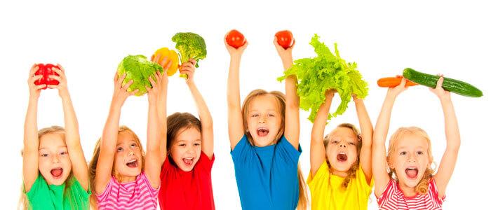Como preparar comidas saludables para niños