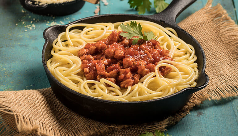 Receta saludable de salsa para pasta